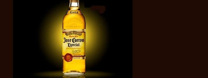 Bottle of tequila